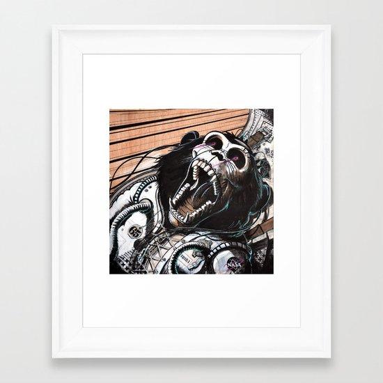 H.A.M Framed Art Print