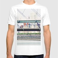 T-shirt featuring Skater On The Bridge by Die Farbenfluesterin