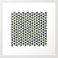 #458 Trap – Geometry D… Art Print
