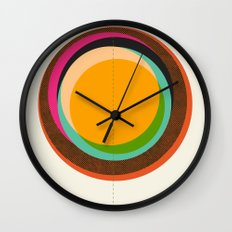FUTURE GLOBES 001 Wall Clock