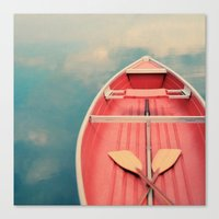 Floating On A Cloud Canvas Print