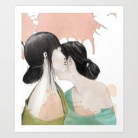 Tell Me A Secret Art Print