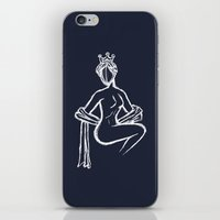 The Sitting Muse iPhone & iPod Skin