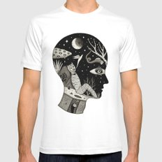 Distorted Recollection of a Dream About Death Mens Fitted Tee White SMALL