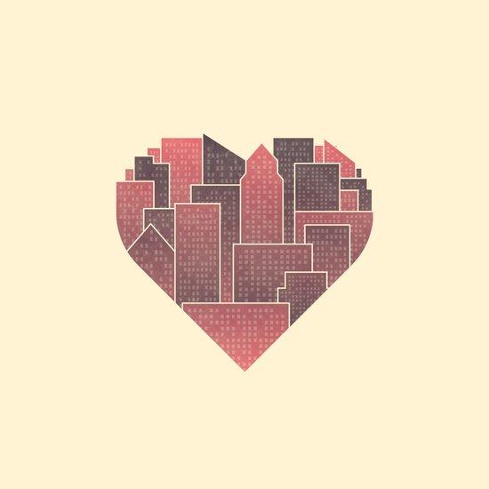 Heart of the City Art Print