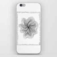 Jellyfish Star I B&W iPhone & iPod Skin