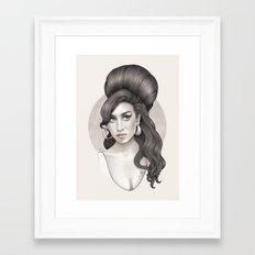 Wino Framed Art Print
