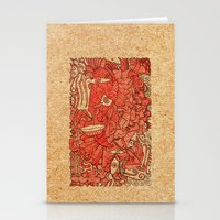 wood Stationery Cards featuring - wood - by Magdalla Del Fresto