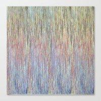 sparkly rain Canvas Print
