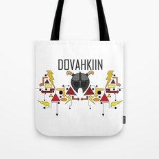 Skyrim: The Dovahkiin - RED (Skyrim) Tote Bag