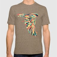 Downstroke Mens Fitted Tee Tri-Coffee X-LARGE