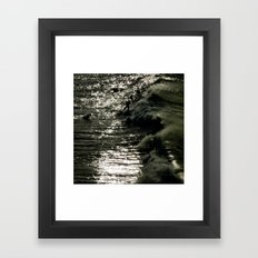 Dark Wave Framed Art Print
