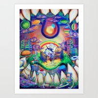 buried treasure Art Print
