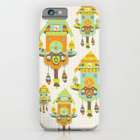 iPhone & iPod Case featuring Clock Wall by Leanne Oughton