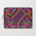 Ivy Purple Laptop Sleeve