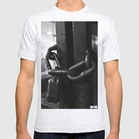 Trapped Mind Mens Fitted Tee Ash Grey SMALL