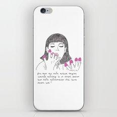 Amelie Poulain iPhone & iPod Skin