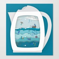 8 CUPS DEEP Canvas Print