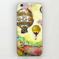 Flying Ballons iPhone & iPod Skin