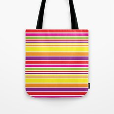 sunshine stripe Tote Bag