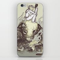 harder they fall iPhone & iPod Skin