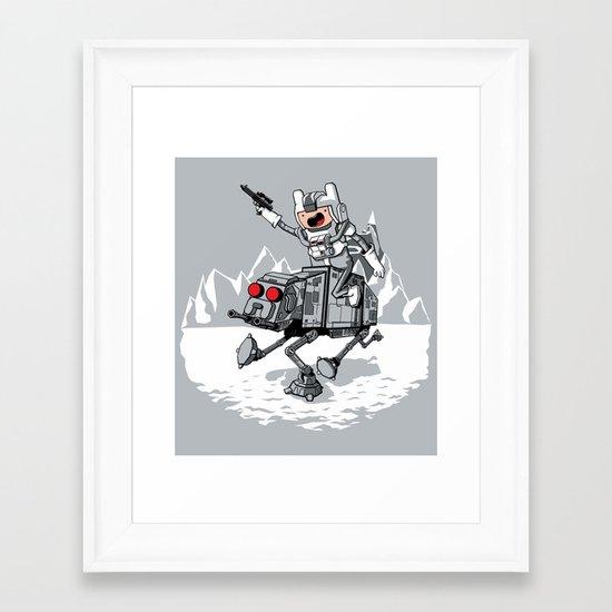 All Terrain Adventure Transport Framed Art Print