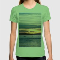 Twilight Womens Fitted Tee Grass SMALL