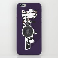 Dub Step Gun iPhone & iPod Skin