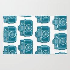 I Still Shoot Film Camera Logo Rug