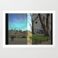 London's two. Art Print