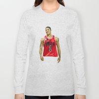 Geometric Rose Long Sleeve T-shirt