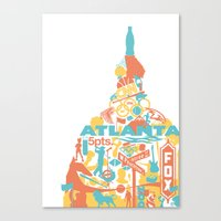 Atlanta, GA Canvas Print