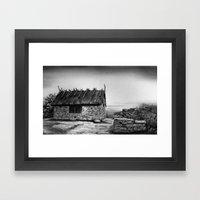 Boathouse Framed Art Print