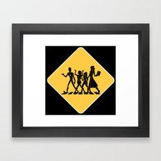 Hollowmentary Crossing Framed Art Print