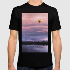 For a Dream Black Mens Fitted Tee SMALL