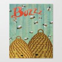 Buzzz Canvas Print