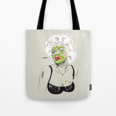 WTF? NATURAL MARILYN Tote Bag