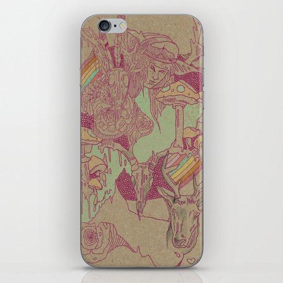 plum iPhone & iPod Skin