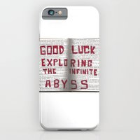 Good Luck Exploring the infinite abyss iPhone 6 Slim Case