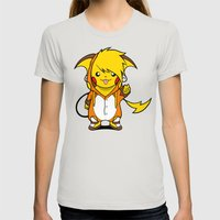 Enter Birdychu Womens Fitted Tee Silver SMALL