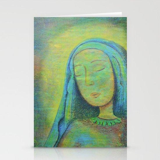 Mary Stationery Card