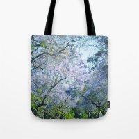 Jacaranda Canopy Tote Bag