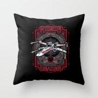 Rogue Leader Throw Pillow