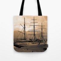 Sea Cloud II tall ship Tote Bag