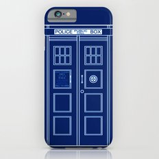 TARDIS Front Door - Doctor Who Slim Case iPhone 6s