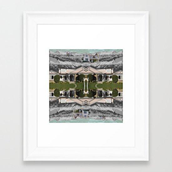 Desperate Framed Art Print
