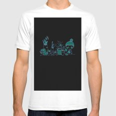 Little Garden Mens Fitted Tee White SMALL