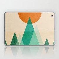 No mountains high enough Laptop & iPad Skin