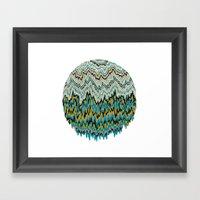Dripz Framed Art Print