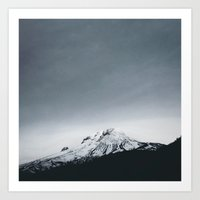 Mt. Hood X Oregon Art Print